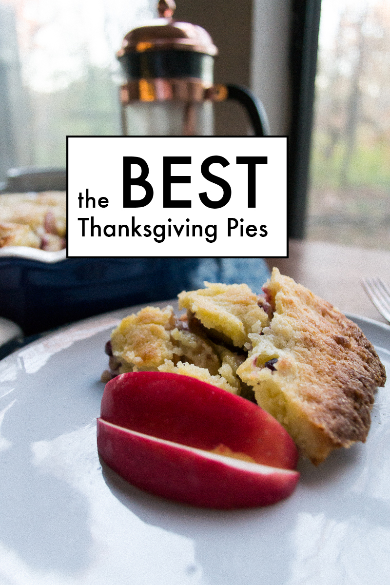 My 3 FAVORITE Thanksgiving Pie Recipes